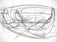 Тизер интерьера нового концепта. Иллюстрации Mercedes-Benz