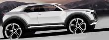 Тизер Audi Q1