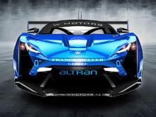 Предполагаемый внешний вид гоночного суперкара W Motors Supersport HSF. Изображение с сайта motorauthority.com