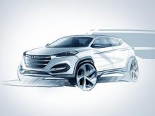 Hyundai Tucson нового поколения. Изображение Hyundai