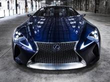 Lexus LF-LC. Фото Lexus