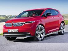 Предполагаемый внешний вид BMW 1-Series Sport Cross. Иллюстрация с сайта automobilemag.com