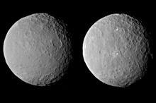 Сником Цереры с расстояния 46 тысяч километров Фото: NASA / JPL-Caltech / UCLA / MPS / DLR / IDA