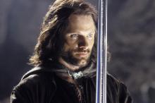 Арагорн в исполнении Вигго Мортенсена Кадр из фильма «Властелин колец: Возвращение Короля»