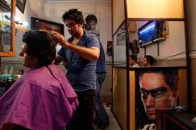 Иранская парикмахерская Фото: Vahid Salemi / AP