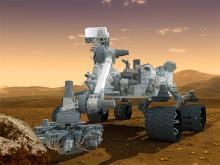 Марсоход Curiosity. Фото с сайта newsru.com