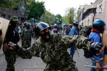Столкновения в центре Одессы 2 мая 2014 года.