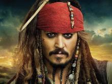 Д. Депп в Пиратах....