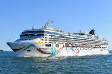 Круизное судно Norwegian Dawn. Фото: Fletcher6 / WikiPedia