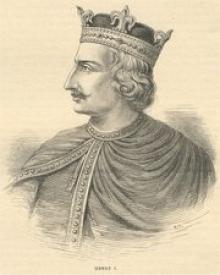 Генрих I. Рисунок из Истории Англии Касселя (1902).