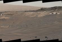Панорама, сделанная марсоходом Curiosity 10 мая 2015 года. Фото: MSSS / JPL-Caltech / NASA