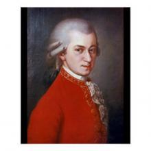 В.-А. Моцарт. Портрет работы Барбары Крафт.