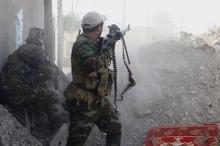 Бои в городе Рамади, Ирак. Фото: AP