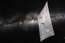 ������� LightSail. �����������: The Planetary Society