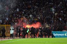 Стадион в Порт-Саиде, 1 февраля 2012 года. Фото: Ahmad Radi / Xinhua / Zumapress / Global Look
