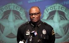 Шеф полиции Далласа Дэвид Браун. Фото: LM Otero / АР