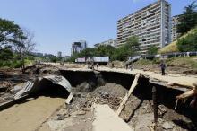 После наводнения в Тбилиси. Фото: Shakh Aivazov / AP