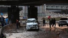 После наводнения в Тбилиси. Фото: EPA