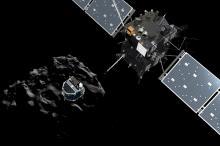 Отделение зонда Philae от космического аппарата Rosetta. Изображение: ESA