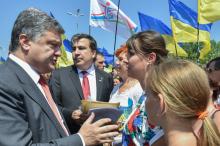 П. Порошенко в Одессе, 8 июля 2015 года. Фото: president.gov.ua