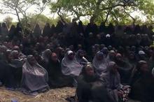 Девочки, похищенные в одной из школ города Чибок. Фото: AP