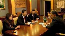 Фото: страница М. Саакашвили в «Фейсбук»