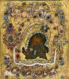 Касперовская икона Божией матери. Фото: eparhiya.od.ua