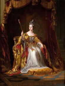 Королева Виктория. Изображение из блогосферы