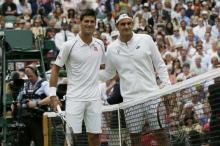 Р. Федерер и Н. Джокович. Фото Reuters c сайта Газета Ru