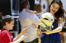 Миньон — мягкая игрушка. Фото: Reuters с сайта Лента Ru