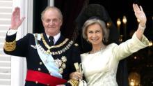 Экс-король Испании с супругой. Фото: LA Times