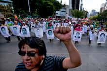 Родственники 43 пропавших без вести студентов в Герреро. Фото: Marco Ugarte / AP
