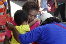 Родственники погибших пассажиров. Фото: Alfian / AP