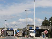 Граница между Грецией и Македонией. Фото с allyestate.com