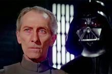 Питер Кашинг. Кадр: фильм «Звёздные войны. Эпизод IV: Новая надежда»