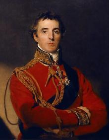 Портрет Артура Уэлсли Веллингтона. Картина Томаса Лауренса.