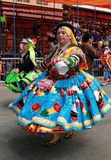 Жительница Боливии. Фото с travel-crazy.ru