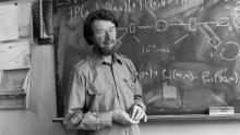 Физик Джон Белл. Фото CERN