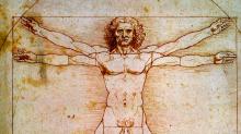 Леонардо да Винчи: Витрувианский человек (Академическая галерея, Венеция, Италия)