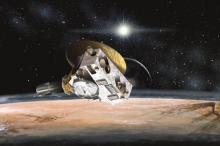 Станция New Horizons (в представлении художника)  Изображение: NASA