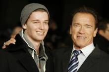 Патрик и Арнольд Шварценеггеры. Фото Reuters с сайта Лента Ru