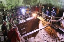 Центральный зал Денисовой пещеры. Фото: Александр Кряжев / РИА Новости