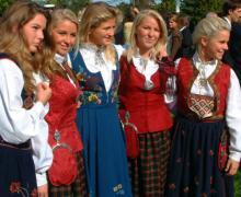 Жительницы Норвегии. Фото с worldme.ru