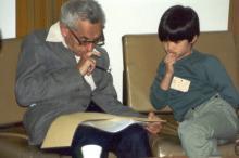 Пал Эрдеш и Теренс Тао. Фото: wikipedia.org