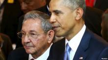 Рауль Кастро и Барак Обама. Фото: svoboda.org