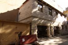 Екатерининская площадь, 1. Строение после демонтажа