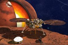 Проект миссии InSight. Изображение: JPL-Caltech / NASA