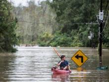 Наводнение в Южной Каролине. 4 октября 2015 года. Getty Images. Фото: Ш.Райфорд