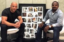 Вин Дизель и Гэри Грей. Фото: личная страница Vin Diesel на Facebook
