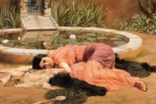 Фрагмент картины «Сладкое безделье» художника Джона Годварда